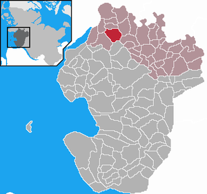 Karte von Rehm-Flehde-Bargen