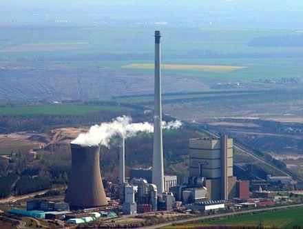 Bild von Helmstedt (Landkreis): Braunkohlekraftwerk Buschhaus
