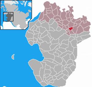 Karte von Westerborstel