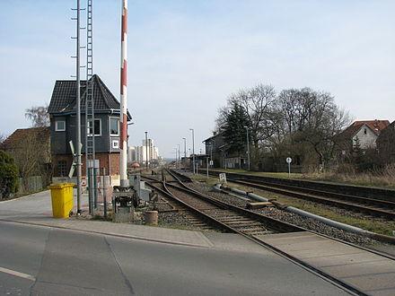 Bild von Buttstädt: Buttstädter Bahnhof (Blick von Rastenberger Straße)