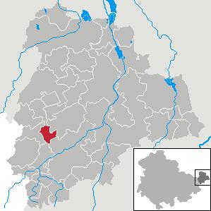 Karte von Drogen (Gemeinde)