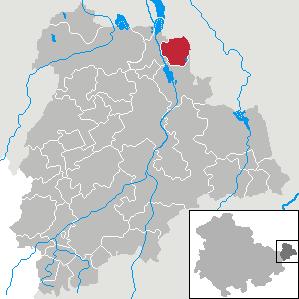 Karte von Fockendorf