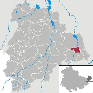 Karte von Frohnsdorf