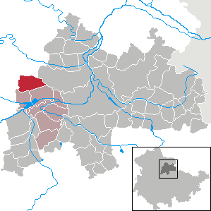 Karte von Gangloffsömmern