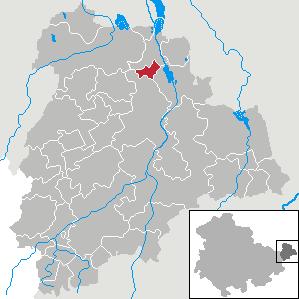 Karte von Gerstenberg