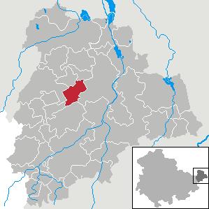 Karte von Göhren (bei Altenburg)