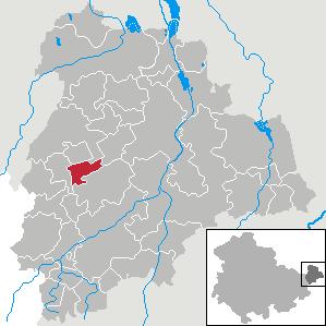 Karte von Göllnitz