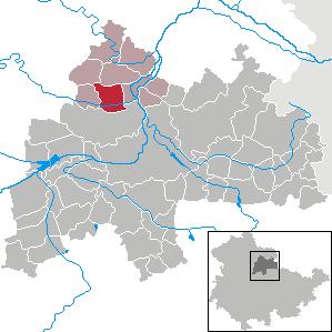 Karte von Günstedt