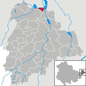 Karte von Haselbach (bei Altenburg)