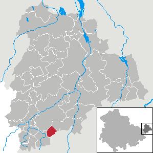 Karte von Heyersdorf