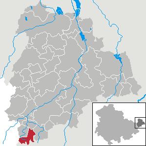 Karte von Jonaswalde