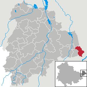 Karte von Jückelberg