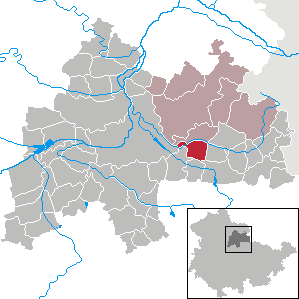 Karte von Kleinneuhausen