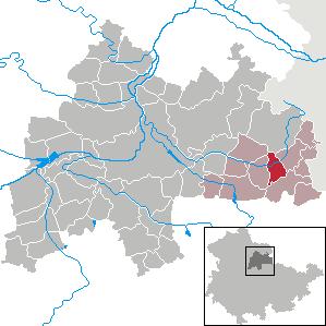 Karte von Mannstedt