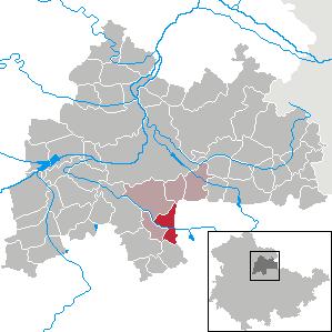Karte von Markvippach