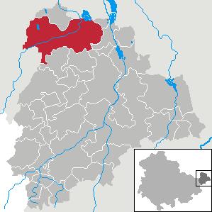 Karte von Meuselwitz