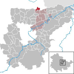 Karte von Niederreißen