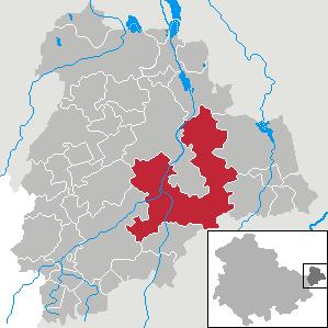 Karte von Nobitz