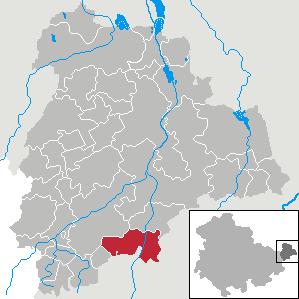 Karte von Ponitz