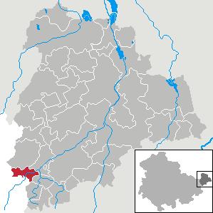 Karte von Posterstein