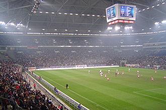 Bild von Nordrhein-Westfalen: Die Veltins-Arena in Gelsenkirchen ist noch vor der ESPRIT arena in Düsseldorf das größte vollüberdachte Stadion