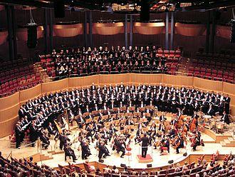 Bild von Nordrhein-Westfalen: Die Neue Philharmonie Westfalen, eines der drei Landesorchester, in der Kölner Philharmonie