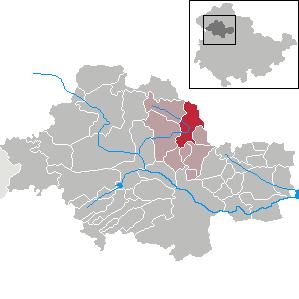 Karte von Schlotheim