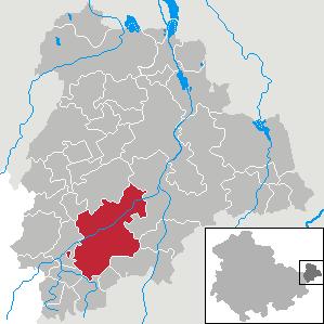 Karte von Schmölln