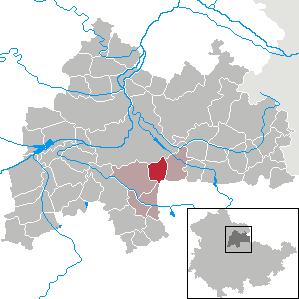 Karte von Sprötau
