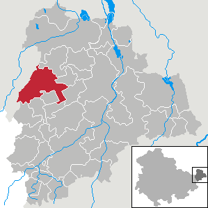 Karte von Starkenberg
