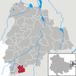 Karte von Thonhausen