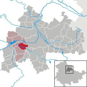 Karte von Werningshausen