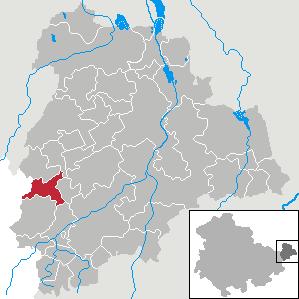 Karte von Wildenbörten