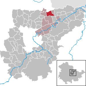 Karte von Willerstedt