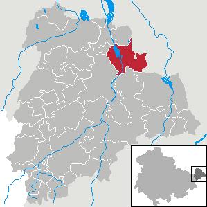 Karte von Windischleuba