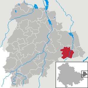 Karte von Ziegelheim