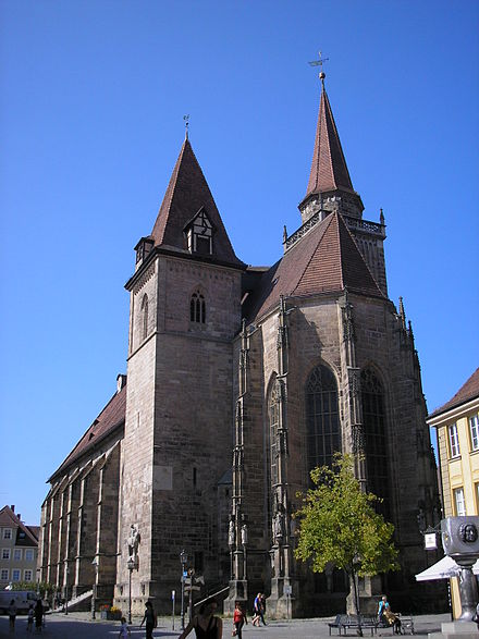 Bild von Ansbach: St. Johannis