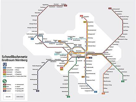 Bild von Ansbach: Ansbach ist Ausgangsbahnhof der S-Bahnlinie S4 Richtung Nürnberg Hauptbahnhof