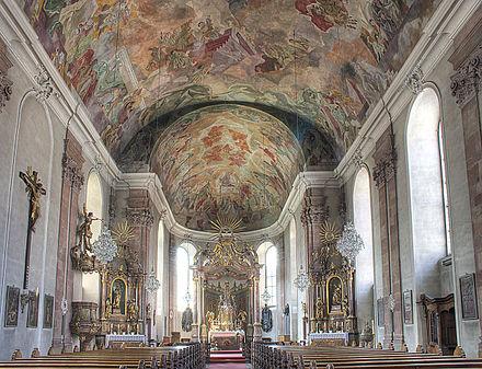 """Bild von Aschaffenburg (Landkreis): Pfarrkirche """"Unsere liebe Frau"""" (Muttergottespfarrkirche)"""