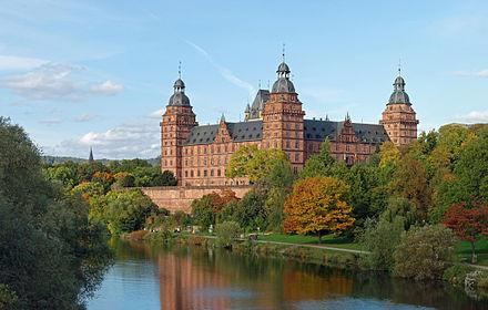 Bild von Aschaffenburg (Landkreis): Schloss Johannisburg – Wahrzeichen der Stadt