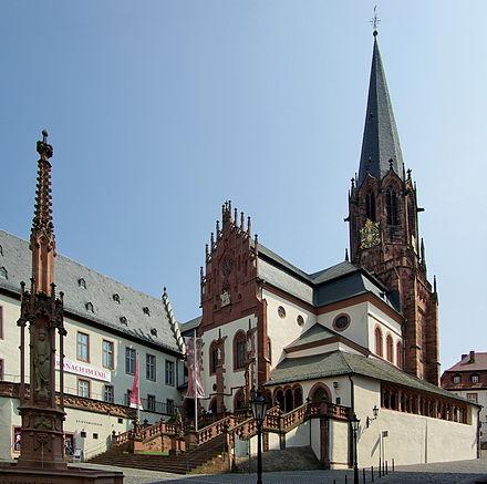 Bild von Aschaffenburg (Landkreis): Stiftsbasilika