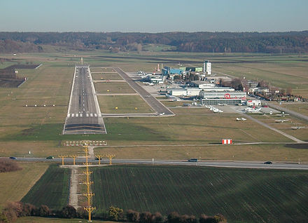 Bild von Augsburg: Augsburger Flughafen