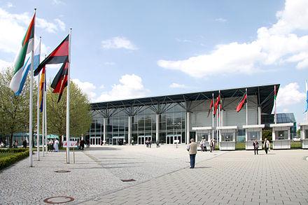 Bild von Augsburg: Eingangsbereich der Messe Augsburg
