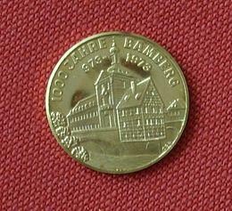 Bild von Bamberg: Goldmedaille von 1973 anlässlich des 1000-jährigen Gründungsjubiläums der Stadt Bamberg