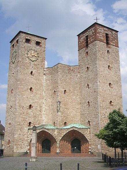 Bild von Bamberg: Katholische Pfarrkirche St. Heinrich in Bamberg-Ost