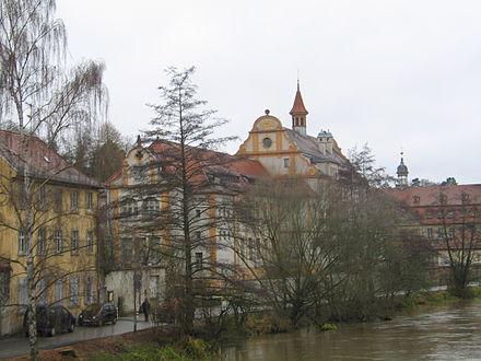 Bild von Bamberg: Blick auf den linken Regnitzarm