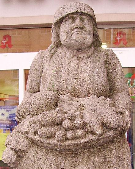 Bild von Bamberg: Humsera als Brunnenfigur