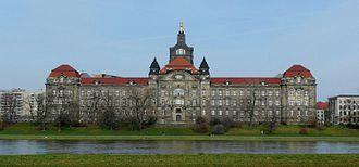 Bild von Sachsen: Sitz der Regierung ist die Sächsische Staatskanzlei