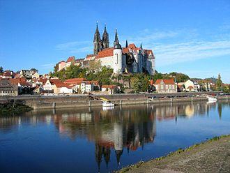 Bild von Sachsen: Die Albrechtsburg in Meißen