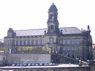Bild von Sachsen: Das Oberlandesgericht Dresden